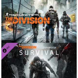 Tom Clancy's The Division + Survival DLC - Uplay Gift Links - INSTANT