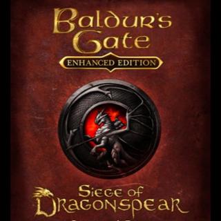 Baldur's Gate: Siege of Dragonspear DLC - Steam - INSTANT