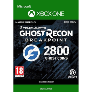 Tom Clancy's Ghost Recon Breakpoint: 2800 Ghost Coins Xbox One
