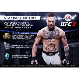 UFC 3 Preorder DLC
