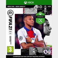 FIFA 21 Champions Edition Xbox US
