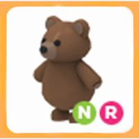 Pet   NR NEON RIDE BROWN BEAR