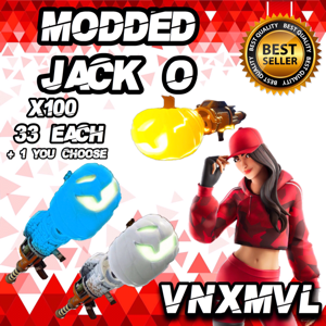 Jack O Launcher | x100 MODDED JACK O