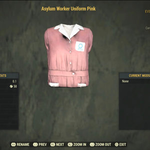 Apparel   pink asylum uniform