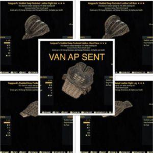 Apparel | Van AP Sent Leather Set