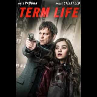 Term Life *Digital Code* Movies Anywhere/Vudu