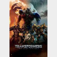 Transformers: The Last Knight **Vudu**