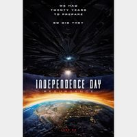 Independence Day: Resurgence  * Movies Anywhere *