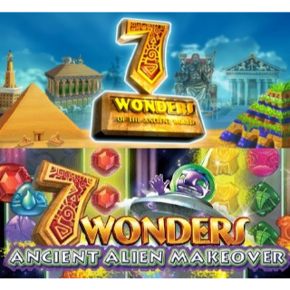 7 Wonders of the Ancient World & 7 Wonders: Ancient Alien Makeover