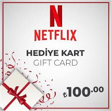 100 TL Netflix Gift Card - TURKEY ➡️ FAST DELIVERY - BEST PRICE 🚀