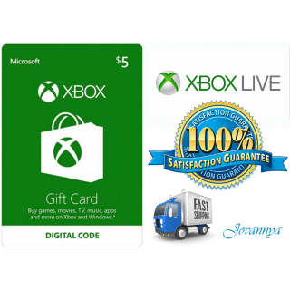 $5.00 Xbox Gift Card | Instant Delivery