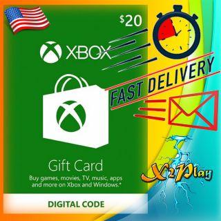 $20.00 Xbox Gift Card | 𝐈𝐍𝐒𝐓𝐀𝐍𝐓 𝐃𝐄𝐋𝐈𝐕𝐄𝐑𝐘