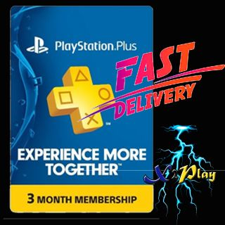 PlayStation Plus 3 Months | 𝐈𝐍𝐒𝐓𝐀𝐍𝐓 𝐃𝐄𝐋𝐈𝐕𝐄𝐑𝐘
