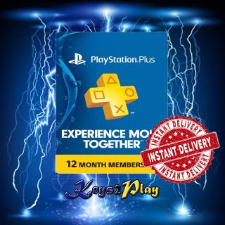PlayStation Plus 12 Months US | 𝐈𝐍𝐒𝐓𝐀𝐍𝐓 𝐃𝐄𝐋𝐈𝐕𝐄𝐑𝐘