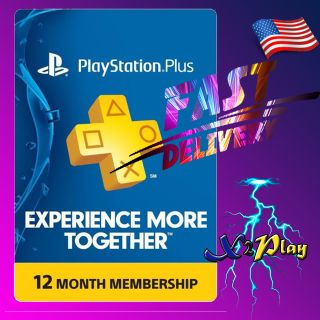 PlayStation Plus 12 Months   𝐈𝐍𝐒𝐓𝐀𝐍𝐓 𝐃𝐄𝐋𝐈𝐕𝐄𝐑𝐘