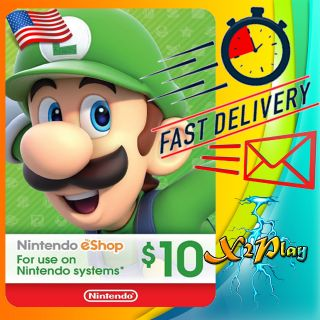 $10.00 Nintendo eShop | 𝐈𝐍𝐒𝐓𝐀𝐍𝐓 𝐃𝐄𝐋𝐈𝐕𝐄𝐑𝐘