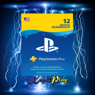 PlayStation Plus 12 Months | 𝐈𝐍𝐒𝐓𝐀𝐍𝐓 𝐃𝐄𝐋𝐈𝐕𝐄𝐑𝐘