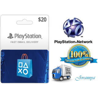 $20.00 PlayStation Store | INSTANT DELIVERY