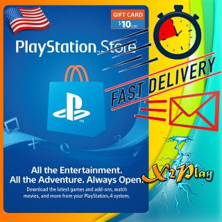 $10.00 PlayStation Store   𝐈𝐍𝐒𝐓𝐀𝐍𝐓 𝐃𝐄𝐋𝐈𝐕𝐄𝐑𝐘