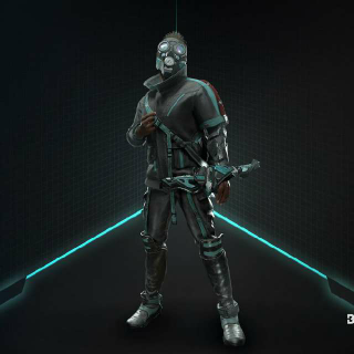 Deathgarden Bloodharvest: Exclusive Supernova Outfit