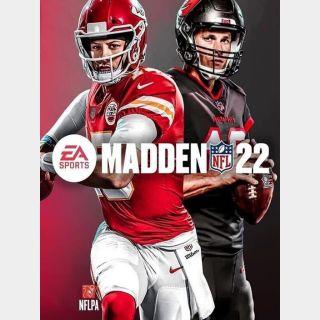 Madden NFL 22 5,580 In-game Points Digital Code