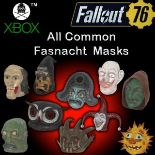 Apparel | Common Fasnacht Masks