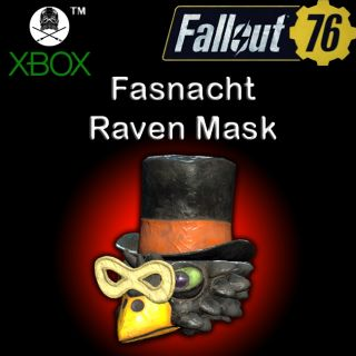 Apparel | Fasnacht Raven Mask