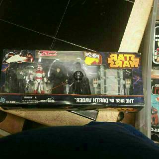 Star Wars The Rise Of Darth Vader