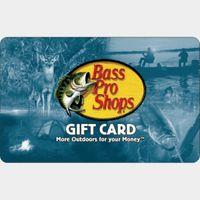 $10.00 Bass Pro Shops