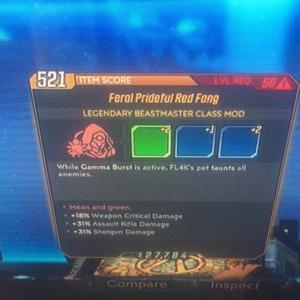 Class Mod | assault n shotgun red fang
