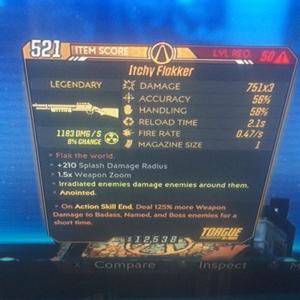 Weapon | 125 radiaton flakker