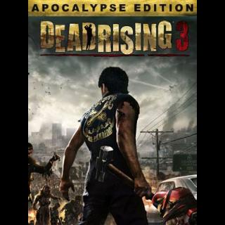 Dead Rising 3 Apocalypse Edition Steam Key GLOBAL