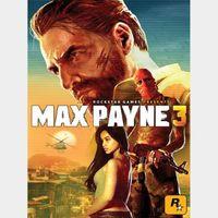 Max Payne 3 Steam Key GLOBAL