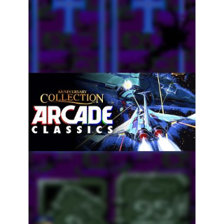 Anniversary Collection Arcade Classics Steam Key GLOBAL