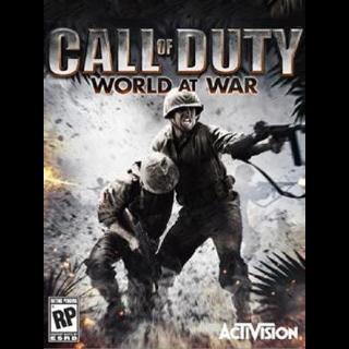 Call of Duty: World at War Steam Key GLOBAL