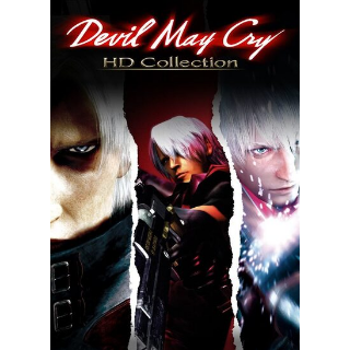 Devil May Cry HD Collection Steam Key GLOBAL