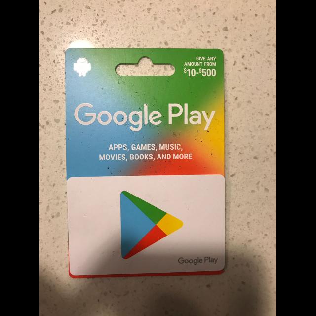 Google Play Card $500 - Google Play Gift Cards - Gameflip