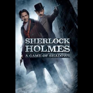 Sherlock Holmes: A Game of Shadows / HD / Vudu