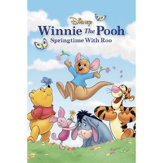 Winnie the Pooh: Springtime with Roo / HDX / Movies Anywhere