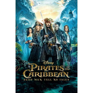 Pirates of the Caribbean: Dead Men Tell No Tales / HD / Google Play