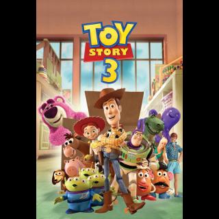 Toy Story 3 / 4k / MA + Points