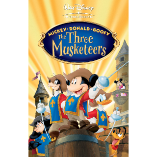 Mickey, Donald, Goofy: The Three Musketeers | HDX - Movies Anywhere
