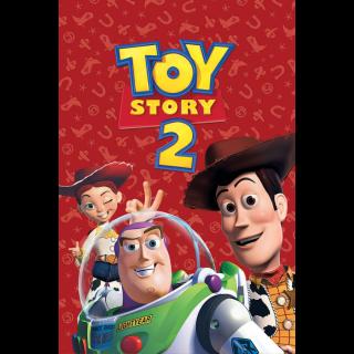 Toy Story 2 / 4k / MA + Points