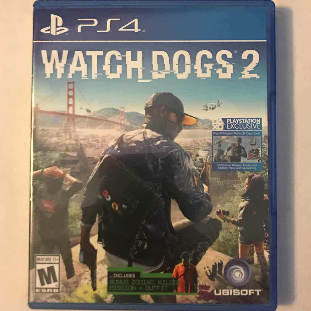 Watch Dogs 2 Ps4 Games Like New Gameflip Sony Game