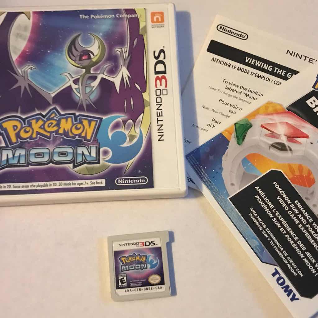 Pokemon Moon 3ds Games Good Gameflip