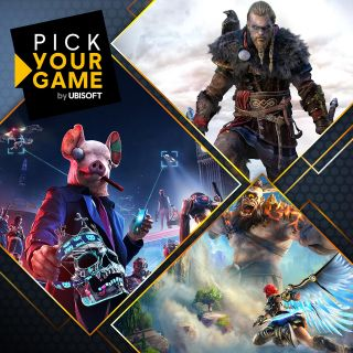 Assassin's Creed Valhalla, Watch Dogs Legion, Immortals Fenyx Rising -1of 3games You choose-Samsung code