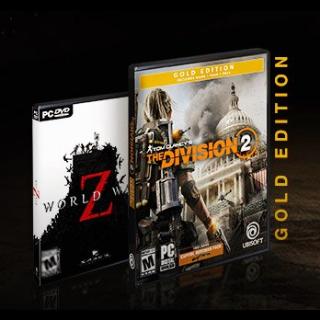 Division 2 Gold Edition+World War Z+ World War Z Weapon Skin -AMD VOUCHER - Instant delivery