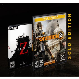 Division 2 Gold Edition+World War Z+ World War Z Weapon Skin -AMD VOUCHER - Instant delivery
