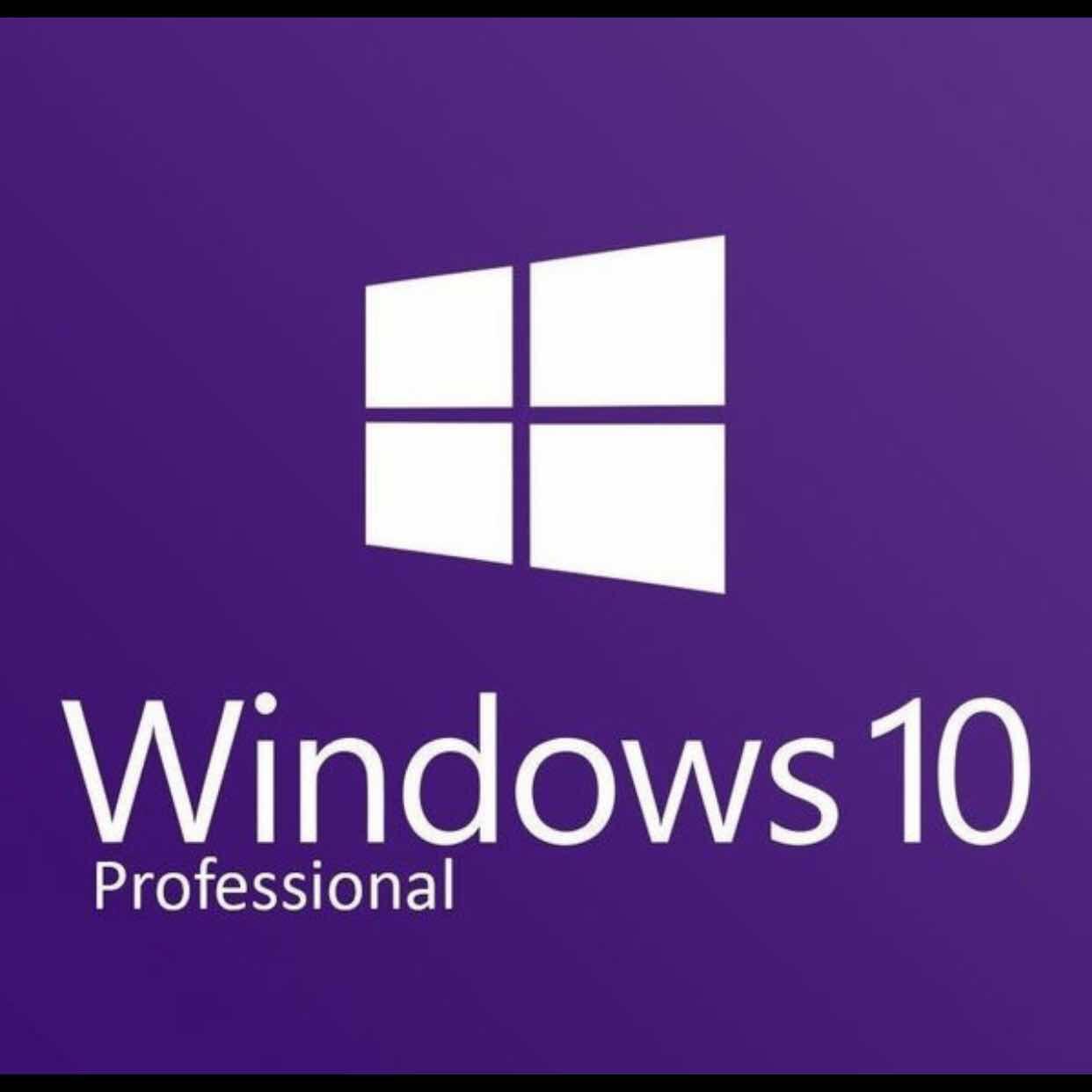 Windows 10 Professional Pro License Key