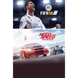 EA SPORTS™ FIFA 18 and Need for Speed™ Payback Bundle Xbox